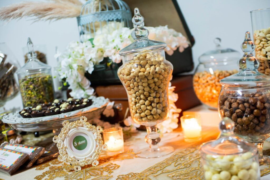 dried fruit table